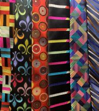 Limited Edition Woven Silk Ties by Van Buck